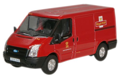 FORD TRANSIT VAN - Royal Mail 1/76 scale model OXFORD DIECAST