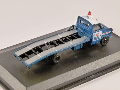 FORD TRANSIT Mk1 RAC BEAVERTAIL RECOVERY TRUCK 1/76 scale model