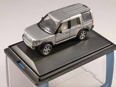 LAND ROVER DISCOVERY 3 in Silver 1/76 scale model OXFORD DIECAST