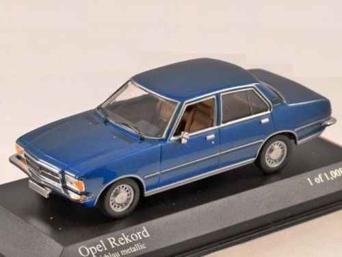 opel rekord d model scale diecast car uk online shop store retailer