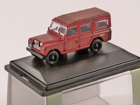 LAND ROVER S2 SW British Railways - 1/76 scale model OXFORD DIECAST