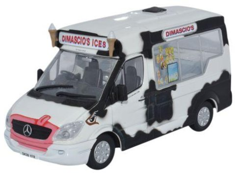 oXFORD dIECAST mERCEDES iCE cREAM