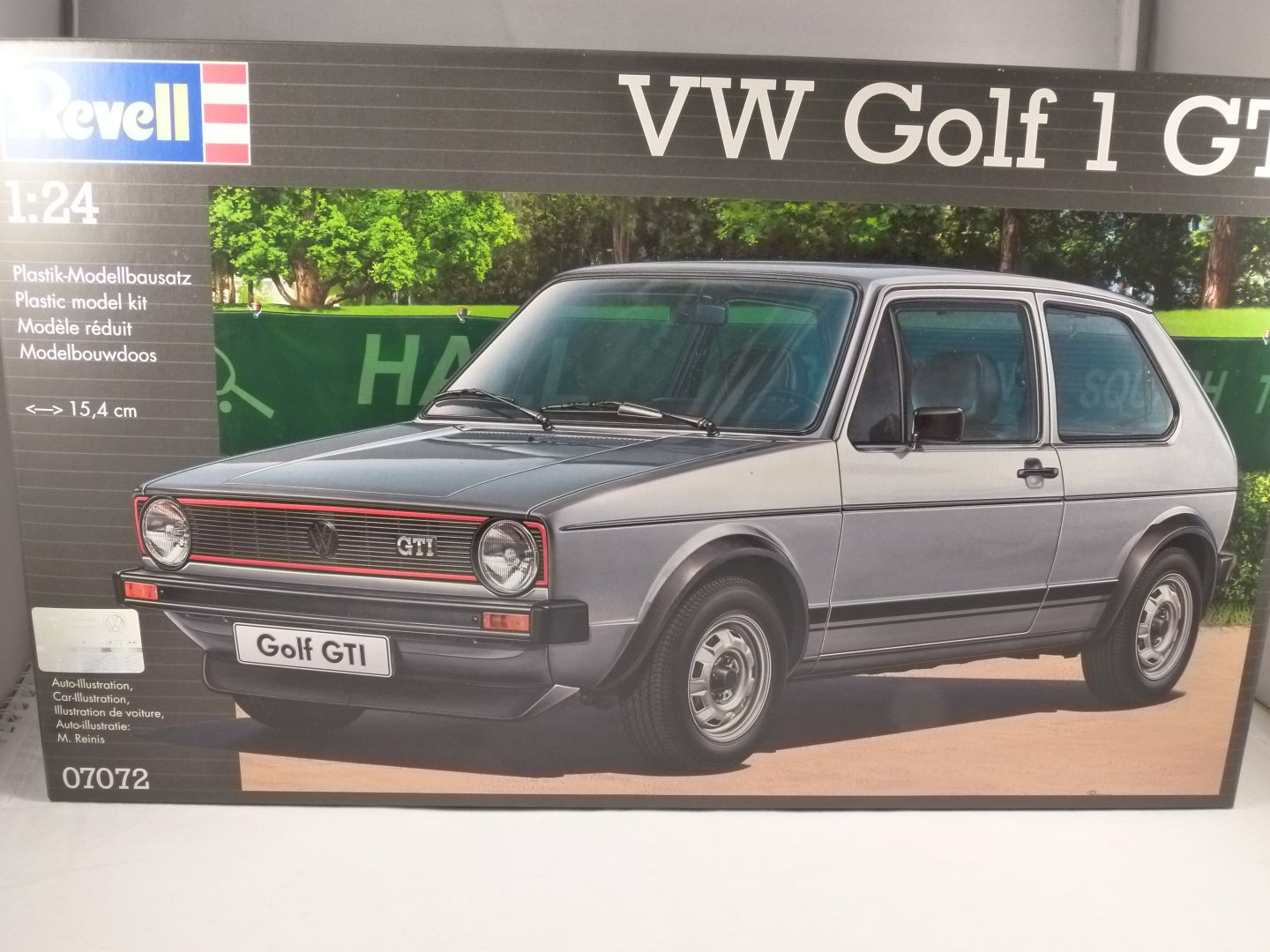 Volkswagen Golf Mk1 Gti 1 24 Scale Plastic Kit By Revell
