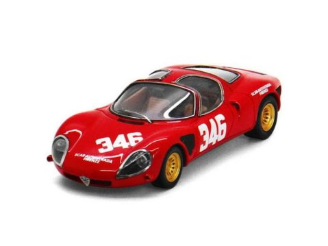 1968 ALFA ROMEO T33 STRADALE 1/43 scale model by TSM