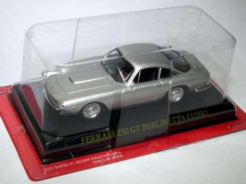 FERRARI 250 GT BERLINETTA LUSSO in Silver 1/43 scale partwork model