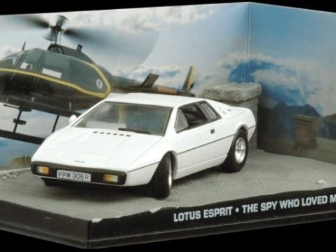LOTUS ESPRIT The Spy Who Loved Me - 1/43 scale model James Bond Collection