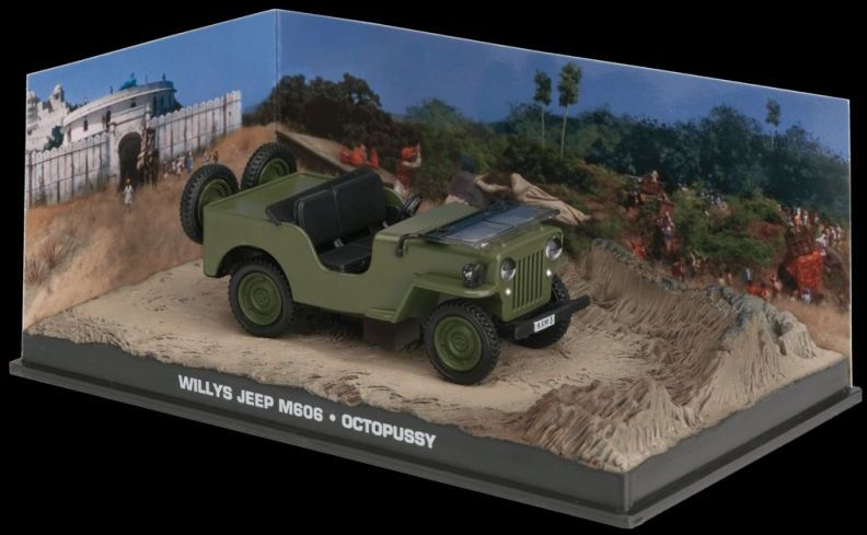 1953 WILLYS JEEP - Octopussy - 1/43 scale model James Bond Collection