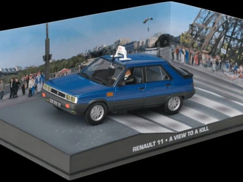 RENAULT 11 - A View To A Kill - 1/43 scale model James Bond Collection