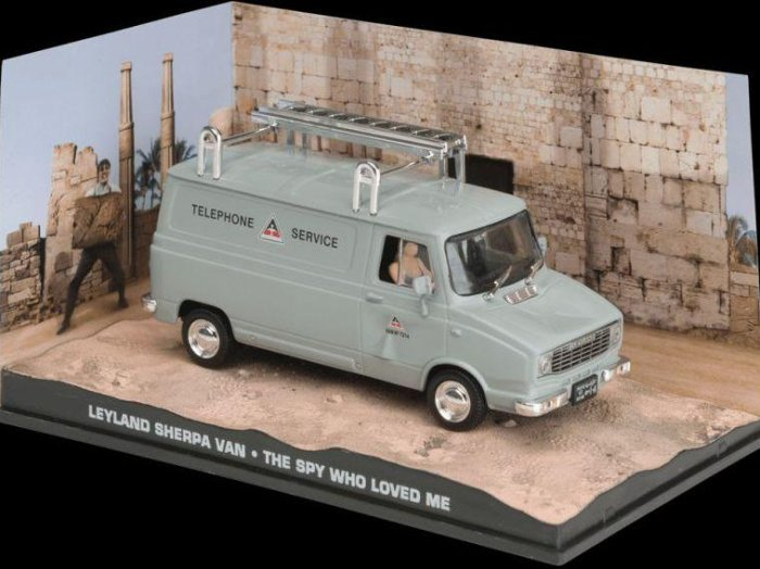 LEYLAND SHERPA VAN - The Spy Who.... - 1/43 scale model James Bond Collection