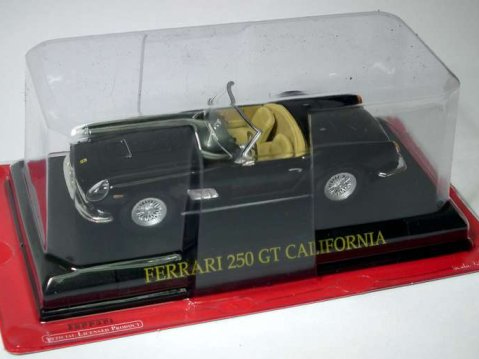FERRARI 250 GT CALIFORNIA in Black 1/43 scale partwork model