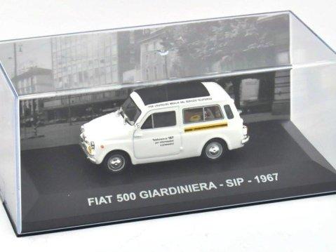 1967 FIAT 500 GIARDINIERA - SIP - 1/43 scale model by Altaya