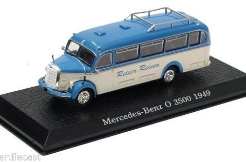 1949 MERCEDES BENZ O 3500 1/72 scale model Bus Collection - Atlas Editions