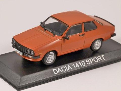 DACIA 1410 SPORT in Orange 1/43 scale model by Altaya