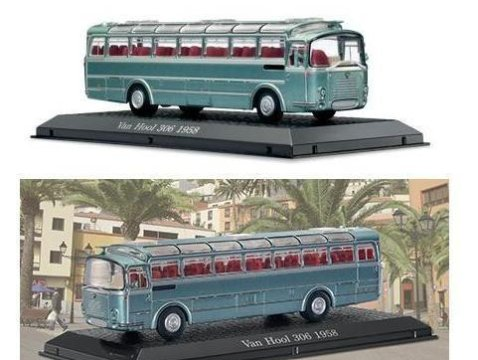 1958 VAN HOOL 306 1/72 scale model Bus Collection - Atlas Editions