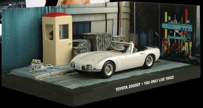 TOYOTA 2000 - You Only Live Twice - 1/43 scale model James Bond Collection