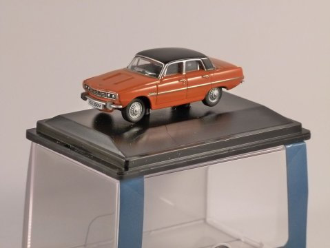 ROVER P6 in Paprika 1/76 scale model OXFORD DIECAST