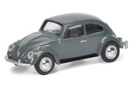 Schuco 1960 VOLKSWAGEN BEETLE in Grey - 1/64 scale model