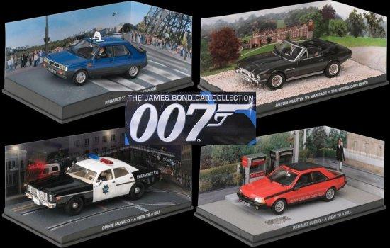 James Bond Diecast Car Collection
