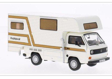 VOLKSWAGEN T3a Tischer Camper in White 1/43 model PREMIUM CLASSIXXS