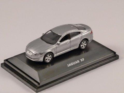 JAGUAR XF in Silver 1/87 scale model WELLY