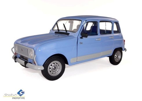 Solido R4 GTL Blue 1