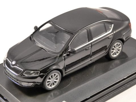2012 SKODA OCTAVIA III in Black Magic 1/43 scale model ABREX