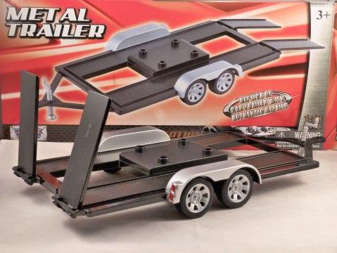 CAR TRANSPORTER TRAILER 1/18 scale model by MOTORMAX