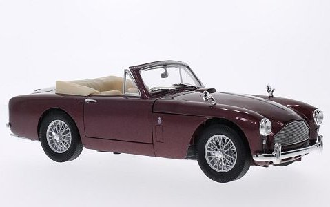ASTON MARTIN DB2/4 Mk3 1957 in Red 1/18 scale model by Whitebox