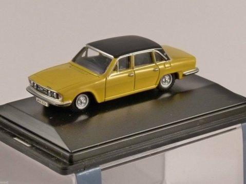 TRIUMPH 2500 in Yellow 1/76 scale model OXFORD DIECAST
