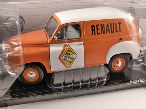 RENAULT COLORALE VAN - Renault Service 1/18 scale model by SOLIDO