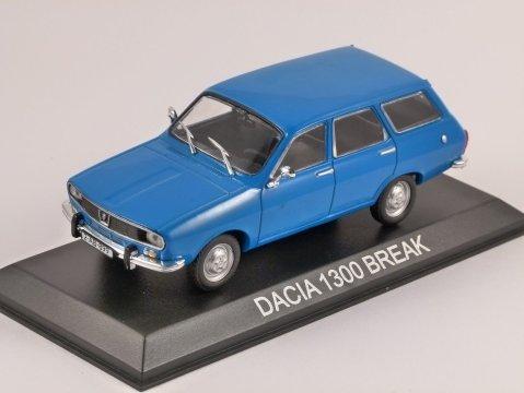 DACIA 1300 Break in Blue 1/43 scale model by Altaya