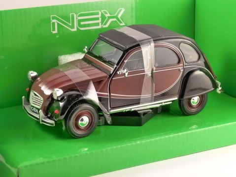 1982 CITROEN 2CV CHARLESTON 1/24 scale model by WELLY