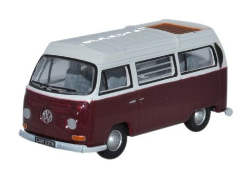 VOLKSWAGEN T2 Bay Window Camper 1/76 scale model OXFORD DIECAST