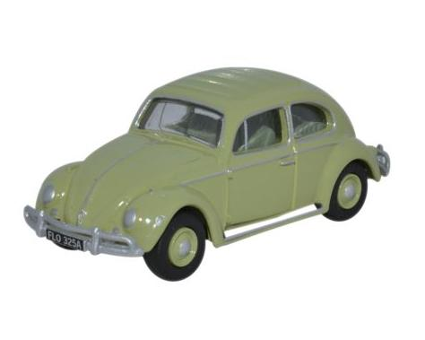 VOLKSWAGEN BEETLE in Beryl Green 1/76 scale model OXFORD DIECAST