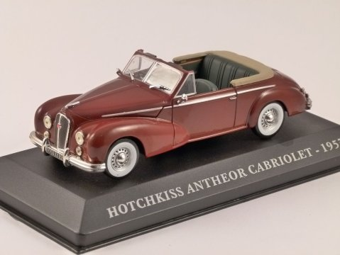 1953 HOTCHKISS ANTHEOR CABRIOLET 1/43 scale model ALTAYA