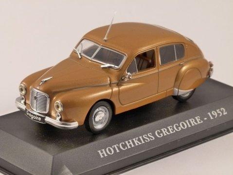 1952 HOTCHKISS GREGOIRE 1/43 scale model ALTAYA