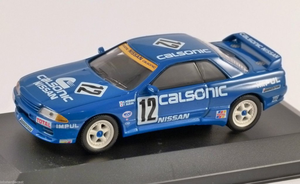 NISSAN SKYLINE GTR 'Calsonic' 1/43 scale partwork model