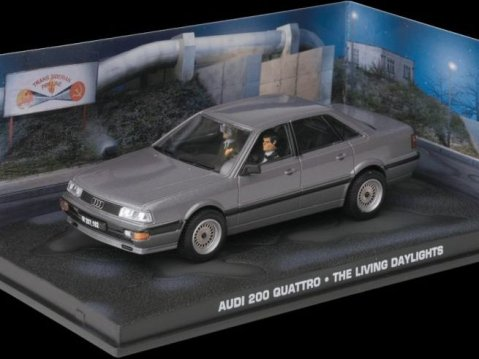 AUDI 200 QUATTRO - The Living Daylights - 1/43 scale model James Bond Collection