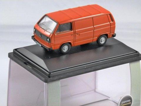 VOLKSWAGEN T25 Van in Brilliant Orange 1/76 scale model OXFORD DIECAST