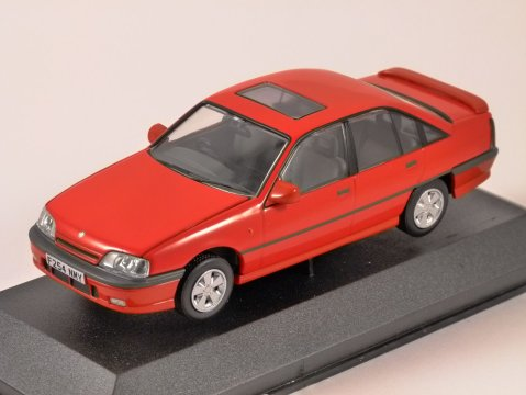 VAUXHALL CARLTON 3000 GSi in Red 1/43 scale model CORGI Vanguards