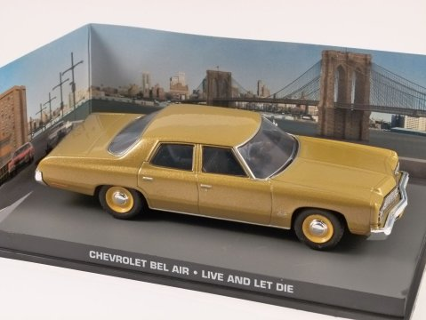 CHEVROLET BEL AIR - Live And Let Die - 1/43 scale model James Bond Collection