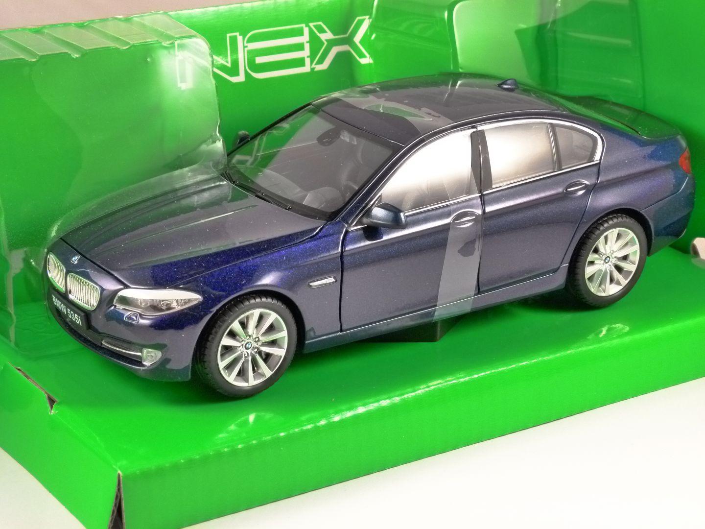 Bmw 535i F10 In Metallic Dark Blue 1 24 Scale Model By Welly