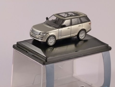 2013 RANGE ROVER in Luxor 1/76 scale model OXFORD DIECAST