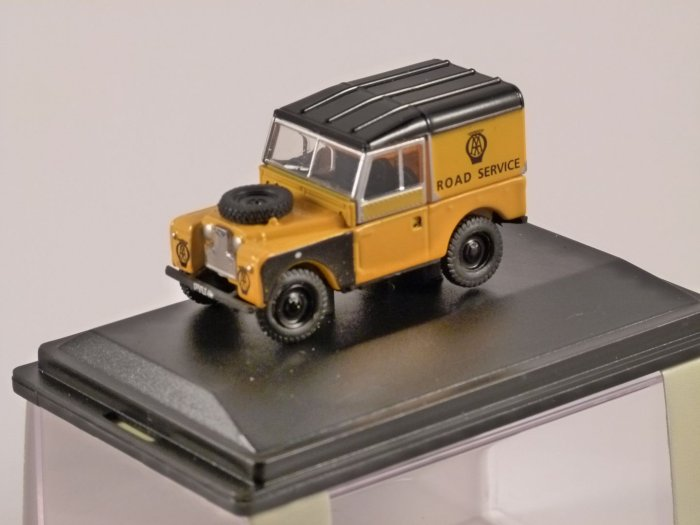 LAND ROVER S1 - AA - 1/76 scale model OXFORD DIECAST