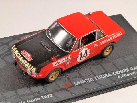 LANCIA FULVIA COUPE RALLYE 1.6 HF Monte Carlo 1972 1/43 scale model ALTAYA