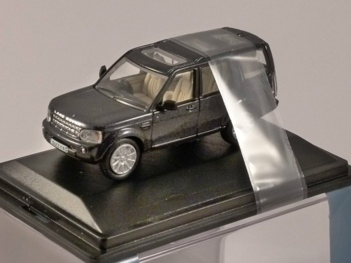 LAND ROVER DISCOVERY 4 in Baltic Blue 1/76 scale model OXFORD DIECAST