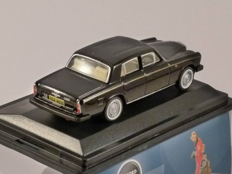 BENTLEY T2 SALOON in Black 1/76 scale model OXFORD DIECAST