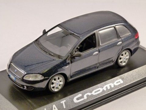 FIAT CROMA in Metallic Charcoal - 1/43 scale model NOREV