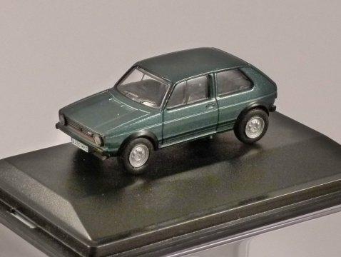 VOLKSWAGEN GOLF Mk1 GTi in Lhasa Green 1/76 scale model OXFORD DIECAST
