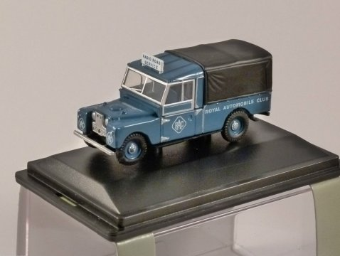 "LAND ROVER 109"" - RAC - 1/76 scale model OXFORD DIECAST"